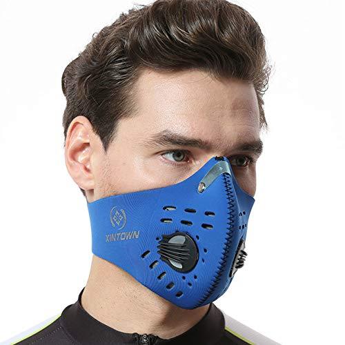 Máscara deportes equitación correr máscara transpirable
