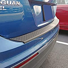 Added protection against scuffs, nicks, scratches, and other damaging marks Textured surface provides slip resistance Quick and easy no-drill installation with the use of self-adhering 3M Tape Attaches directly to your rear bumper To ease concerns ab...