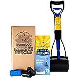 New Complete Poo Pack   Pooper Scooper, Poop Bags, and Pet Dog Waste Bag Holder (Blue)