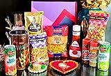 Jiada Assorted Foods Basket for Gifting for Weddings / Christmas/ Birthdays/ Diwali/ Occassions, 2100 g