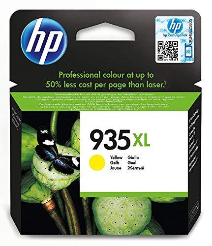 HP C2P26AE 935XL Cartucho de Tinta Original de alto rendimiento, 1 unidad, amarillo