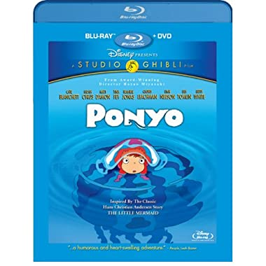 Ponyo (Two-Disc Blu-ray/DVD Combo)