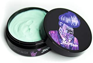 BluMaan Fifth Sample Styling Mask Pomade | High Hold, Low Shine Finish Hair Styling Mask | For All Types Of Hair Including Thick, Curly Hair | Water Base And Easy To Wash Out | 3.7 oz (109 ml)