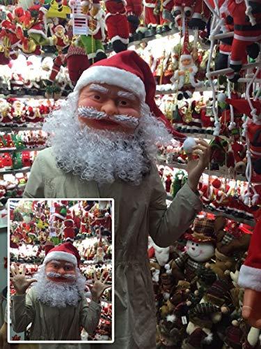 Santa Claus Navidad Suministros de Rendimiento máscaras del