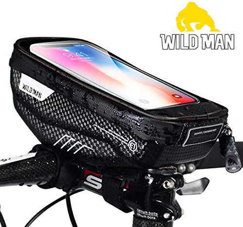 PROZADA Bolsa Bicicleta Impermeable con Pantalla Táctil Sop