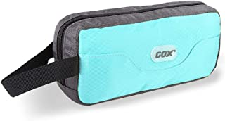 GOX Premium Toiletry Bag, Dopp Kit Case For Travel, Multifunction Cosmetics Organizer Pouch(Sky Blue/Grey)