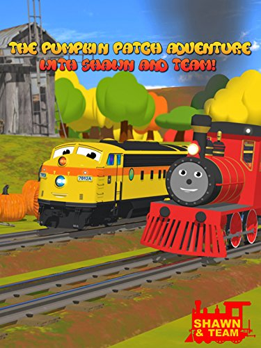 The Pumpkin Patch Adventure with Shawn the Train and his Team! (Pumpkin Chunkin!) - Learn 8 Pumpkin Sizes!