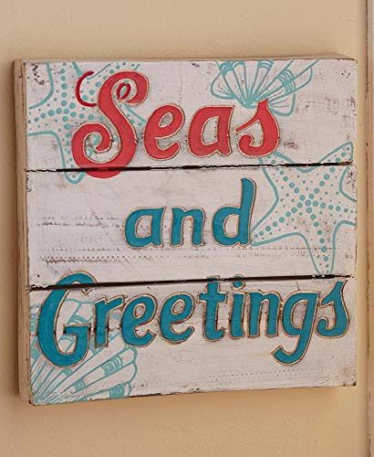 The Lakeside Collection Seas and Greetings Wall Art
