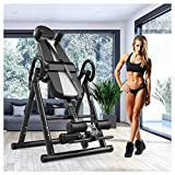 YANGSANJIN 2020 Inversion Table Handstand Machine Safer Body Fitness Building Pro-Circle Chin Up System Gravity Inversion Boots Upside Down F(sports)