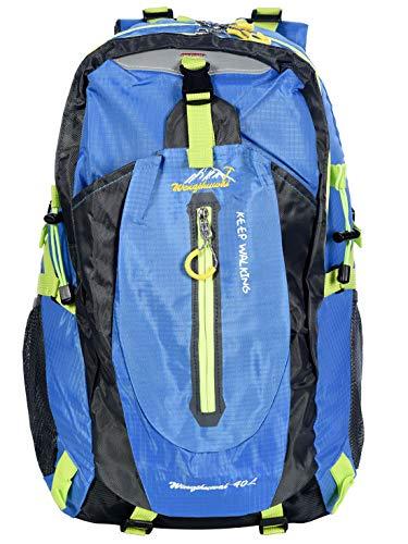 Trekking Wander - Zaino 40 litri, Adulti (unisex), BZ30174, Blu, L