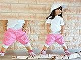 Shorts 3/4 Pumphose kurze Sommerhose Bermuda Kinderhose Baggy Pants Baby Kinder Junge Mädchen Loose Fit Knickerbocker