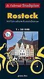 Fahrrad-Stadtplan Rostock: Mit Fahrradkarte Rostock-Güstrow. Offizielle Karte des ADFC-Regionalverbandes Rostock e.V. Wasser- und reißfest. (Stadt- und Ortspläne)