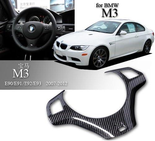 Eppar Super-cheap New Carbon Fiber 25% OFF Steering Wheel E90 M3 Cover BMW for Sedan