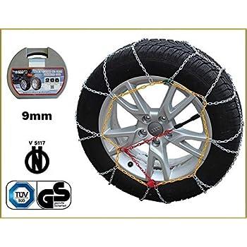 Catene da neve a rombo 9mm Ford Ka pneumatico 165//65R14 1656514 2009