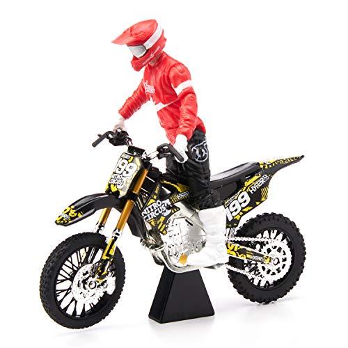 Import 79169 Motocross Sound FX Bike /& Rider Series 11 Travis Pastrana by Jakks Pacific Action-Figure-Playsets Jakks Pacific MXS New Spring 2018