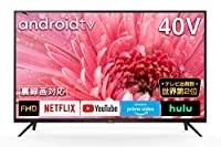 TCL 40型 フルハイビジョン スマートテレビ(Android TV) 40S515 ネット動画サービス対応 液晶テレビ 外付けHDDで裏番組録画対応 2020年モデル