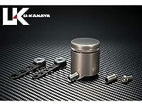 ユーカナヤ アルミビレットブレーキマスターオイルタンク カラー:チタンカラー 汎用 MTKTIb