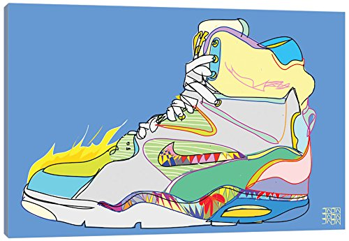 iCanvasART TDR46-1PC3-40x26 iCanvas Nike Air Command Forces (Billy Ho's), 40' x 26'