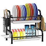Best Dish Drainers - Dish Drying Rack, GSlife Stainless Steel 2 Tier Review