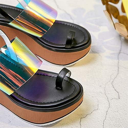 HommesGLTX Talon Aiguille Talons Hauts Sandales Mode Nouvelles Sandales pour pour Femmes 2019 Marque Design en Cuir Véritable Compensées Sandales Décontracté Chaussures à Bout Ouvert Chaussures De Mode Femme  magasin en ligne de sortie