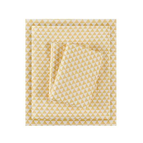 Intelligent Design-Bettlaken-Set Casual Twin gelb