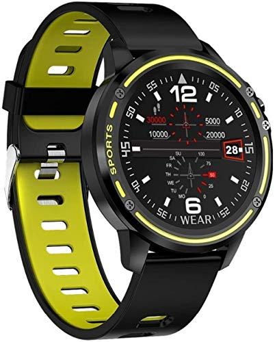 Para OPPO Reno2 Z F Reno 2 R17 Neo R15 Pro AX7 F9 A71 A7x A73s reloj inteligente hombres presión arterial ritmo cardíaco deportes fitness relojes verde