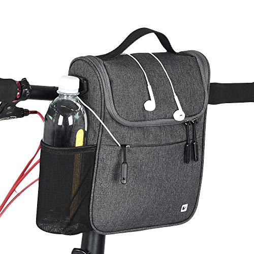 Rhinowalk Bike Handlebar Bag,Bike Front Bag Road Bike Bag Bike Frame Bag Bike Basket Bag Bicycle Bag Professional Cycling Accessories.
