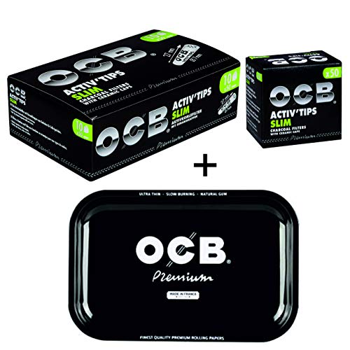 OCB - Filtros carbón Activado Cigarrillos electrónicos