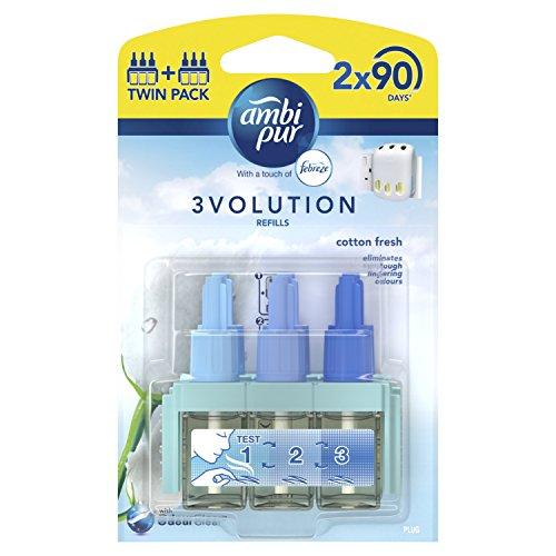 Ambi Pur 3Volution plug-in ambientador recambio 20ml (Pack de 2)