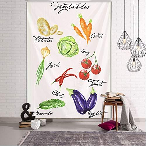N / A Pflanzen Sie Wildblumen Tapisserie Wandbehang Blume Referenzkarte Hippie Bohemian Tapisserie Bunte psychedelische INS Home Dekoration Tapisserie Hintergrund Stoff A3 100x150cm