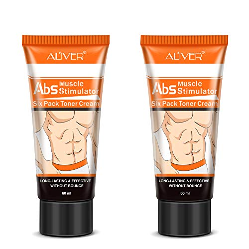 2 Pack Fat Burning Slimming Cream, Hot Cream for Men and Women, Powerful Abdominal Muscle Cream, Slim Cream, Fat Burner, Tighten Muscles for Abdominal, Arms and Thighs.