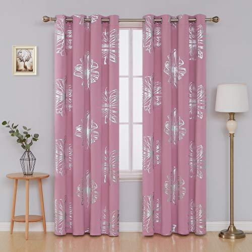 cortinas rosas dormitorio