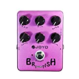 JOYO JF-16 British Sound Guitar Effect Pedal Amp Simulator - Bypass, DC 9V and Battery Supported