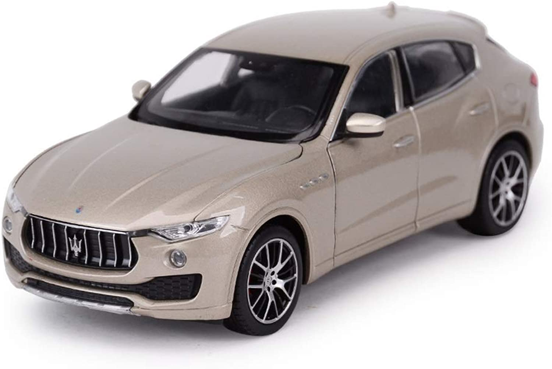 hasta un 50% de descuento Maisto Escala 1 24 24 24 Maserati Levante Modelo Diecast Vehículos Coches Modelos Juguete para Niños Regalo Inicio Colección Decorativa Modelos Escala Vehículos ( Color   oro )  precioso