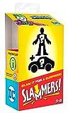 Fisher-Price Imaginext Slammers DC Super Friends Vehículo de Risas y Figura Misteriosa para niños de 3 años en adelante