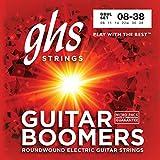ghs GBUL - Juego de cuerdas para guitarra eléctrica, 8-38 -