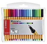 Fineliner - STABILO point 88 Mini - 18er Pack -
