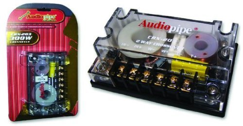 AUDIOPIPE CRX-203 2-Way 4-Ohm Car Audio Passive Crossover Networks CRX203