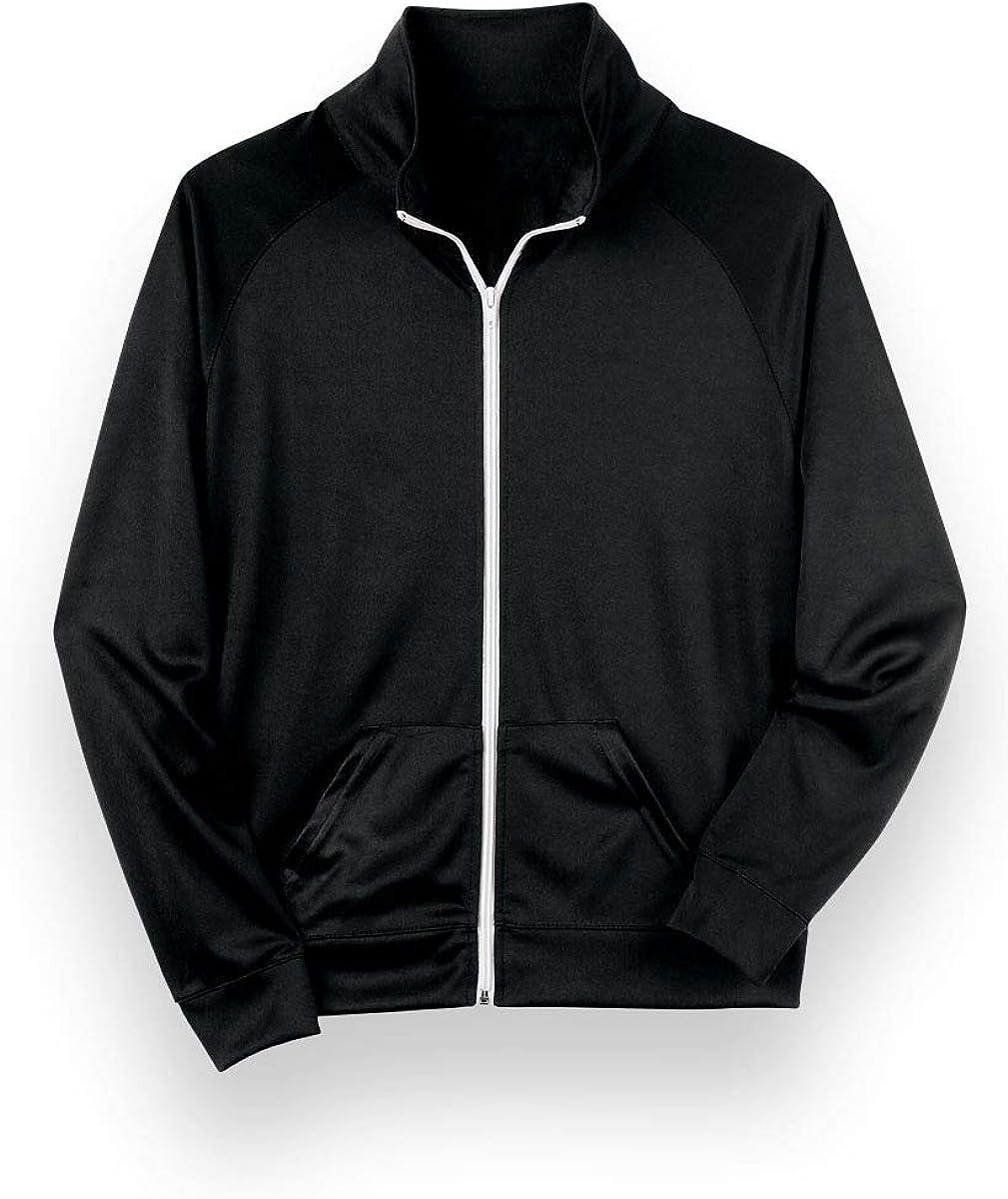 Urban Groove Track Jacket Zip Front Unisex