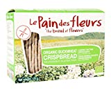 Le Pain des Fleurs - Organic Buckwheat Crispbread - 125g (Case of 6)