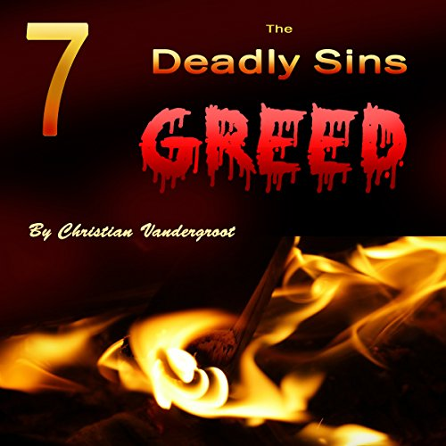 Greed audiobook cover art