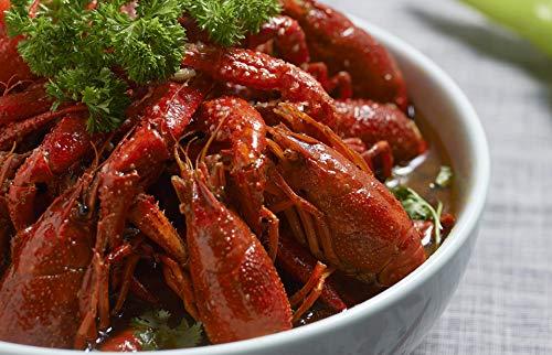Louisiana Flusskrebsschwänze geschält- Cambarid Freshwater Crayfish tails peeled / gekocht / tiefgefroren / Wildfang / Binnengewässer / mit Wasserglasur