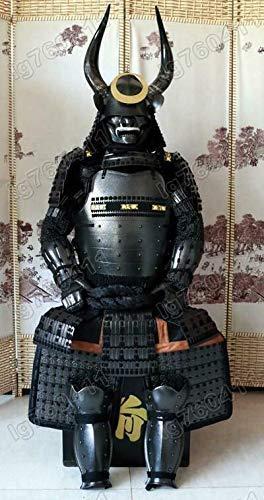 armorj 缘甲 Japanische Samurai-Rüstung aus Shimazu Yoshihiro Pfirsich Helm...