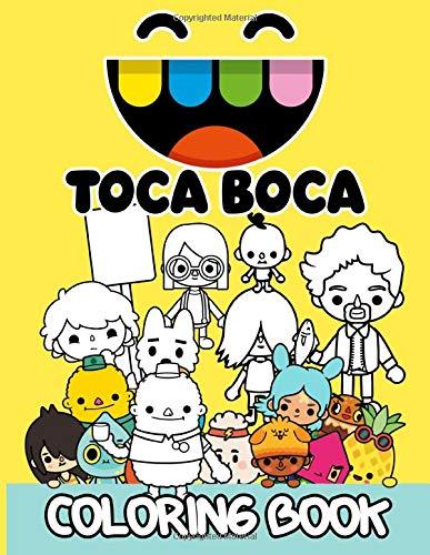 Toca Boca Coloring Book: The Crayola Toca Boca Coloring Books For Adults, Tweens