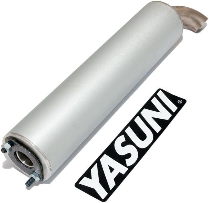 –Silenciador Trasero Yasuni Scooter Aluminio para Yasuni Z