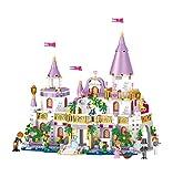 Intervic Set Bloques Ladrillos de Construccion de Juguete Castillos Palacios Princesa de Caricaturas con Personajes de Peliculas 731+Piezas