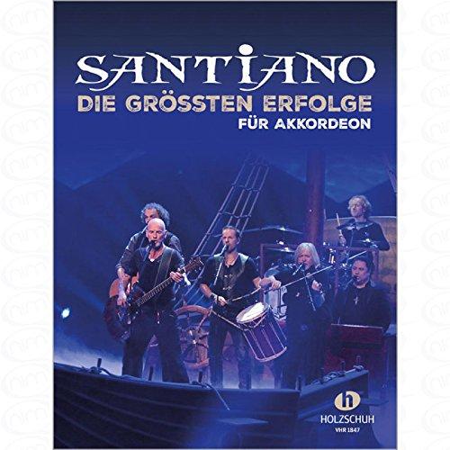 DIE GROESSTEN ERFOLGE - arrangiert für Akkordeon [Noten/Sheetmusic] Komponist : Santiano