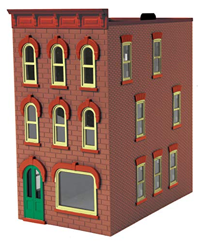 Dusty Red 3-Story Town House #1 - MTH 30-90598