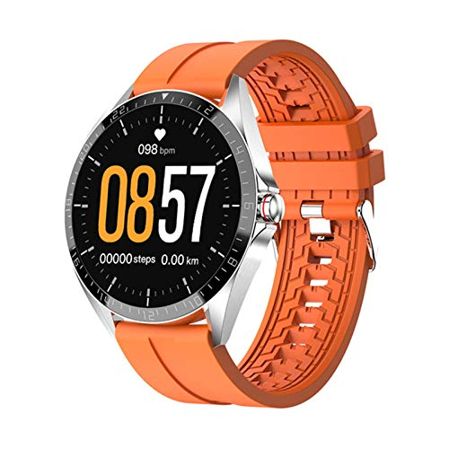 YDZ Smart Watch GW16T Sport SMARTWATCK Rate Sleep Monitor IP67 Impermeable iOS Android Android Pulsera Inteligente, Adecuada para iOS Android,B