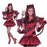 Amscan International Disfraz de Diablesa para niñas y adolescentes en varias tallas Halloween